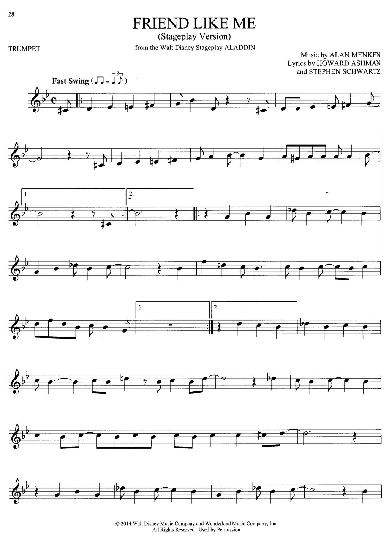101 Hit Songs For Trumpet Trumpet Sheet Music Instrumental Album