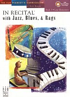 In Recital with Jazz, Blues & Rags 3 + Audio Online