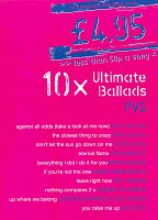 10x Ultimate Ballads         piano/vocal/guitar