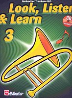 LOOK, LISTEN & LEARN 3 + CD method for trombone