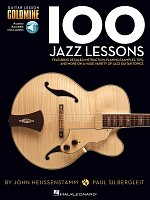 100 Jazz Lessons + Audio Online / kytara + tabulatura
