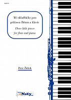 ŽIDEK, Petr: Three little pieces for flute and piano