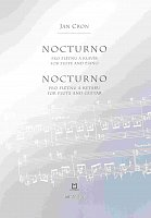 NOCTURNO for flute & piano (guitar) by Jan Cron