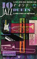 10 EASY JAZZ DUETS + CD - C instrument