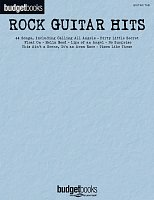 BUDGETBOOKS - ROCK GUITAR HITS zpěv/kytara + tabulatura