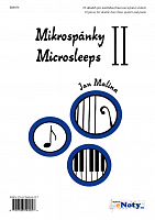 MIKROSPÁNKY 2 - Jan Malina - 10 pieces for double bass (bass guitar) and piano