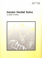 Kendor Recital Solos for Flute + CD / solo book