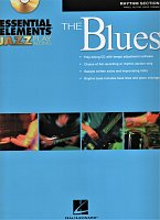 Essential Elements - The BLUES + CD / rytmická sekce (klavír, kytara, basa, bicí)