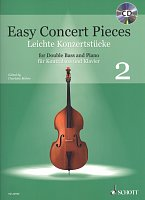 Easy Concert Pieces 2 + CD / Double Bass and Piano