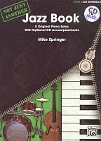 Not Just Another Jazz Book 3 (green) + CD / 8 late intermediate original piano solos