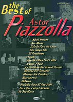 Astor PIAZZOLLA, The Best of...    klavír/zpěv/kytara