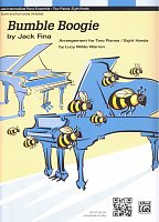 BUMBLE BOOGIE by Jack Fina / 2 pianos 8 hands