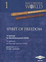 Spirit of Freedom - 14 spirituals for recorder quartet (SATB)