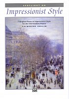 Impressionist Style 1 by Catherine Rollin - 7 original pieces for pianist