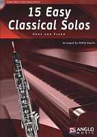 15 Easy Classical Solos + CD / oboe + piano