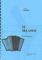 12 Compositions for two accordions by Ladislav Nemec