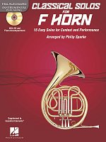 CLASSICAL SOLOS for F HORN + CD / f horn + piano