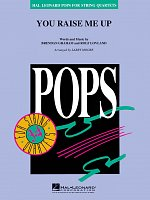 Pops for String Quartets - YOU RAISE ME UP