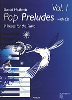 Pop Preludes 1 by Daniel Hellbach + CD / klavír