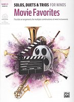 MOVIE FAVORITES: Solos, Duets & Trios for Winds + Audio Online / horn in F + piano (PDF)