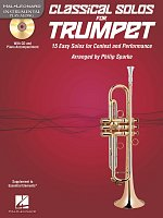CLASSICAL SOLOS for TRUMPET + CD / trumpet + piano
