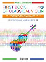 First Book of Classical Violin + Audio Online / housle + klavír