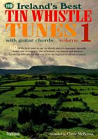 110 Ireland's Best Tin Whistle Tunes 1 - melody/chords