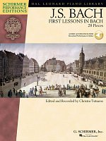J.S.BACH - First Lesson in Bach (28 pieces) + Audio Online / piano solos