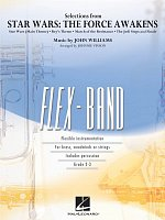 FLEX-BAND - STAR WARS: The Force Awakens (selections) / score + parts