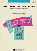 DISCOVERY JAZZ FAVORITES (grade 1-2) + CD / partitura