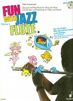 FUN WITH JAZZ FLUTE 2  +  CD / flute (C instrument ) & piano