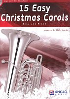 15 Easy Christmas Carols + CD / tuba + klavír