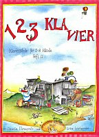 123 KLAVIER 2 + CD / piano school for young pianists - part two