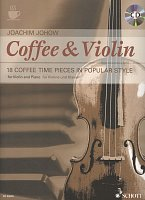 Coffee & Violin + CD / violin + piano