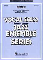 FEVER - Vocal Solo with Jazz Ensemble - partitura + party