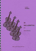 20 SHORT COMOPSITIONS FOR FOUR VIOLINS by Ladislav Nemec