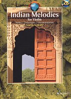 Indian Melodies for Violin + CD / housle