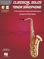 CLASSICAL SOLOS for TENOR SAXOPHONE + Audio Online / tenor sax + piano
