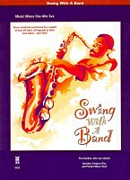 SWING WITH A BAND + CD / alto sax