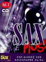 SAX PLUS ! vol. 3 + CD         alto / tenor saxofon