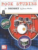 ROCK STUDIES for Drumset + CD