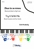 Emil Hradecký: Try it with Me - 1 piano 4 hands + CD