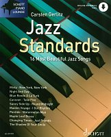 JAZZ STANDARDS (16 most beautiful jazz songs) + Audio Online // piano / chords