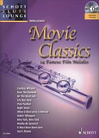 MOVIE CLASSICS (14 Famous Film Melodies) + CD / flute + piano