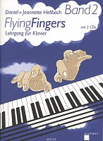 Flying Fingers 2 + 2x CD /  piano method, book 2