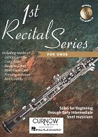 1st RECITAL SERIES + CD / oboe - solo book