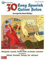 30 Easy Spanish Guitar Solos + Audio Online / guitar & tab
