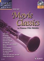 MOVIE CLASSICS (14 Famous Film Melodies) + CD / clarinet + piano