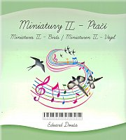 MINIATURY II - Birds  / 10 easy pieces for piano