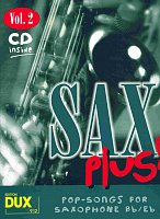 SAX PLUS !  vol. 2 + CD      alto / tenor sax